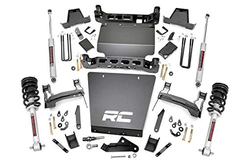 "Rough Country 7"" Lift Kit (fits) 2014-2018 Chevy Silverado GMC Sierra 