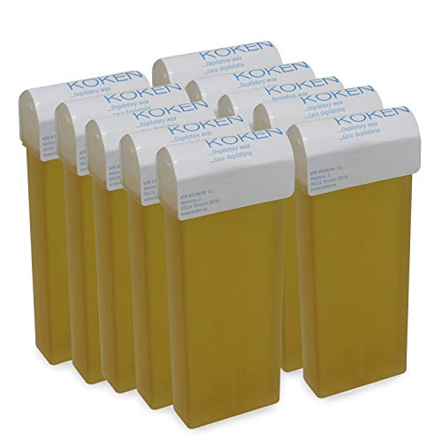 KOKEN - Cera Depilatoria Roll-on 100ml Universal - Pack 10 C