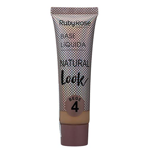 Ruby Rose Base Líquida Natural - Bege 4 - 29ml