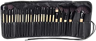 Other 24Pcs Makeup Brushes Kit Professional Cosmetic Make Up Set Pouch Bag Case Black,Gh10074