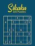 Sikaku 300 Puzzles: Analytic Puzzle Workbook | Mind-blowing Game Sheets | Sikaku Brainteaser Notebook
