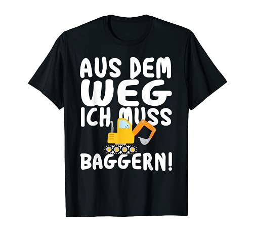 Bagger Fahrzeuge Jungs T-Shirt
