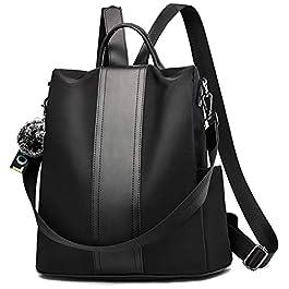 TcIFE femmes sac à dos sac d'école anti-vol étanche sac à dos de voyage scolaire sac à main sac à bandoulière