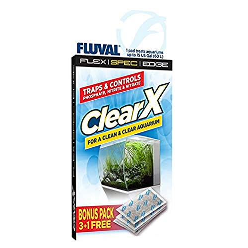 Fluval A1336 Clear X Filter Kissen 4er Pack