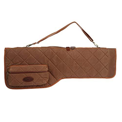 TOURBON Canvas Gun Bag 35 inch Shotgun Case with Zipper Pocket