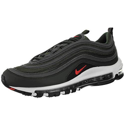 Nike Herrenschuhe Sneakers AIR MAX 97 aus grauem Stoff BQ4567-300