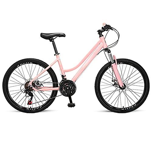 BMDHA MTB,Bicicleta De montaha 21 Velocidades 24 Pulgadas,Bicicleta Alta Velocidad Chasis Impermeable Sellado Bicicleta Montana Adulto Ningun Ruido