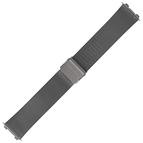 Skagen Uhrenarmband 22mm Edelstahl Silber - 233XLTTMO