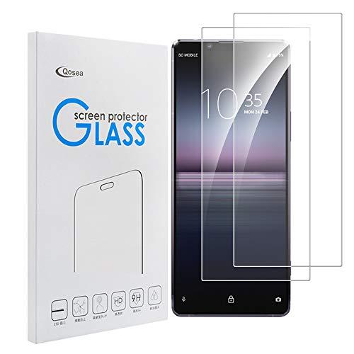 【2枚セット】Sony Xperia 1 II ガラスフィルム Sony Xperia 1 II ガラスフィルム通用 日本旭硝子製強化Sony Xperia 1 II ガラスフィルム 自動吸着 Sony Xperia 1 II カバー 3Dタッチ 高透過率