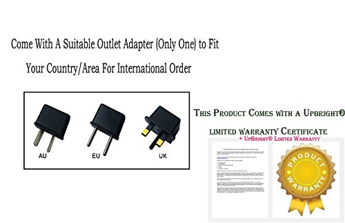 UpBright 12V AC Adapter Compatible with Casio WK-6500 WK-6600 WK-7500 WK-7600 Privia PX-7 PX-7WE PX-3BK PX-5S PX-55 PX-5SWE PX-130 PX-730 BK/CY Piano Keyboard ADA12150 ADA12150LW 12VDC 1.5A-2A Power