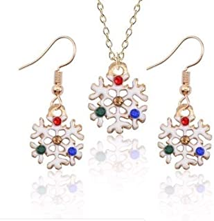 Accessorisingg Christmas Special Pendant and Earrings Set