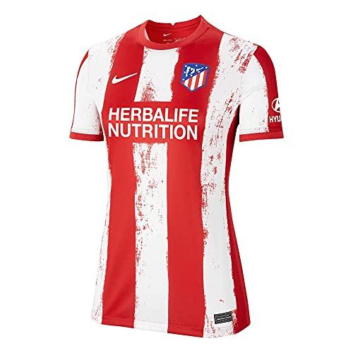 Nike - Atlético de Madrid Temporada 2021/22 Camiseta Primera Equipación Equipación de Juego, XL, Mujer