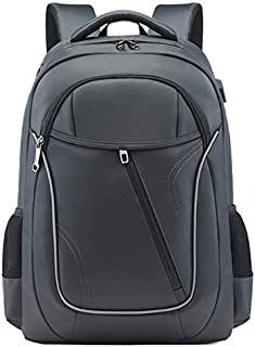 SODIAL Supply Business Backpack Male Multi-Function Korean Version Of The Notebook Travel Computer Bag School Bag Blue
