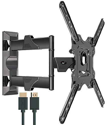 """Suporte Multiarticulado de Parede Para Tvs Led, LCD, Plasma - 26"""" a 55"""" - ELG, Movev4Hdmi, preto"""