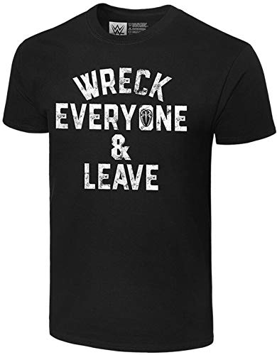 ROMAN REIGNS WWE Wreck Everyone & Leave Official Authentic T-Shirt XXXL