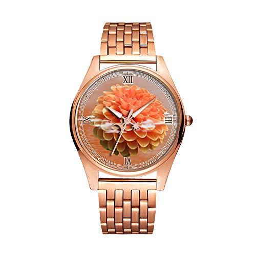 Minimalistische Golden Fashion Quartz Polshorloge Elite Ultra Dunne Waterdichte Sport Horloge Artistiek patroon-051.Krab Nebula, Supernova Remnant