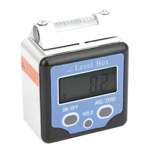 Multifunktionaler digitaler Neigungsmesser, Winkelmessgerät, Füllstandsbox, hohe Genauigkeit für Messgeräte Messgeräte
