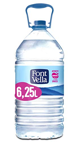 Font Vella Agua Mineral Natural Garrafa, 6.25L