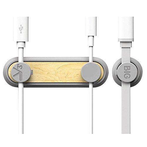 OUNONA Clip Magnético de Cables Organizador de Cable Multiusos con Hebillas para Cables de Escritorio