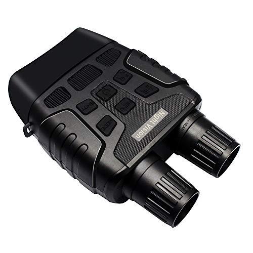 MASALING Nachtsichtbrille, digitales Nachtsicht-Fernglas mit Nachtsicht mit 32 GB Speicherkarte für 100 {a33cacf4cba42e3b7cc25b25a837fd9772392e14c8a25165b0f039efa1906698} Dunkelheit – speichern Sie Fotos und Videos mit Audio für Jagd und Überwachung