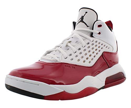 Nike Herren Jordan Maxin 200 Sneaker, Blanco/Negro-Gym Red, 44 EU