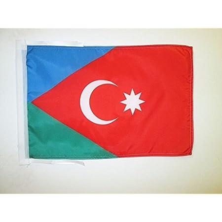 ASERBAIDSCHANISCHE Girlande Flaggenkette 30 x 45 cm AZ FLAG FAHNENKETTE ASERBAIDSCHAN 12 Meter mit 20 flaggen 45x30cm