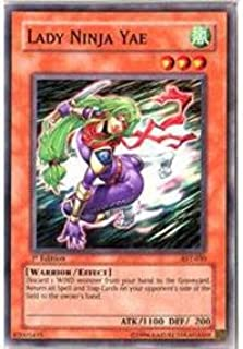 Amazon.com: Yu-Gi-Oh! - Lady Ninja Yae (AST-030) - Ancient ...