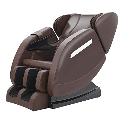 Full Body Massage Chair,Zero Gravity Shiatsu Recliner with Air Bags,Back Heater,Foot Roller and...