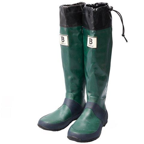 [日本野鳥の会] バードウォッチング長靴 グリーン 4L(29.0cm