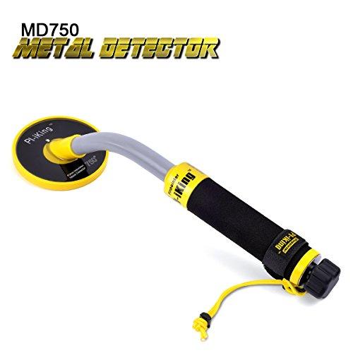 HOOMYA Detector de Metales Subacuático Sumergible, Detectable a 30M Bajo El Agua - Inducción De Pulso PI, Regulación Automática, Totalmente Impermeable, Indicador de Vibración e Iluminación LED