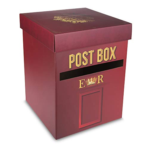 Finessance - Large Post Box - Card Box Perfect for Weddings, Birthdays,...