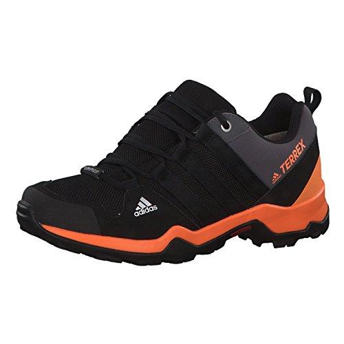 adidas Unisex Kinder Terrex AX2R CP Trekking-& Wanderhalbschuhe, Schwarz (Negbás/Negbás/Naalre 000), 39 1/3 EU