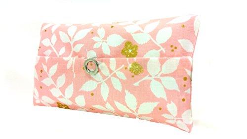 Taschentücher Tasche rosa gold weiß Glitzer Design Adventskalender Befüllung Wichtelgeschenk Mitbringsel Give away Mitarbeiter Weihnachten