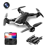 Best Wifi Quadcopter With HD Cameras - SYSTECH LM07 Foldable Drone with 1080P HD Dual Review