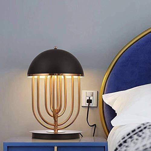 DJY-JY Post-moderno creativo giratorio lámpara de mesa hotel dormitorio sala de estar personalidad simple lámpara decorativa ajustable tres colores luz 30 * 46 cm de alto gusto