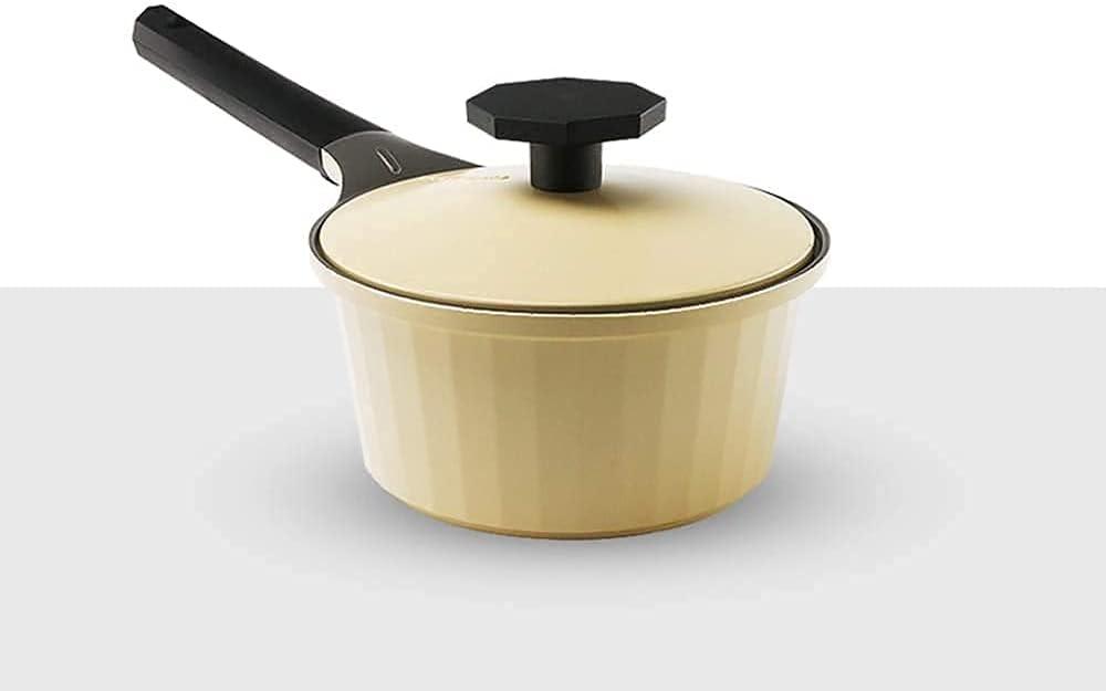 Saucepan Max 47% OFF Fresno Mall Ceramic Coated Non-Stick Pan Milk Small Pa Hot