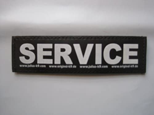 SERVICE Large Package of 2 Julius K9 Labels for K 9 Harnesses product image