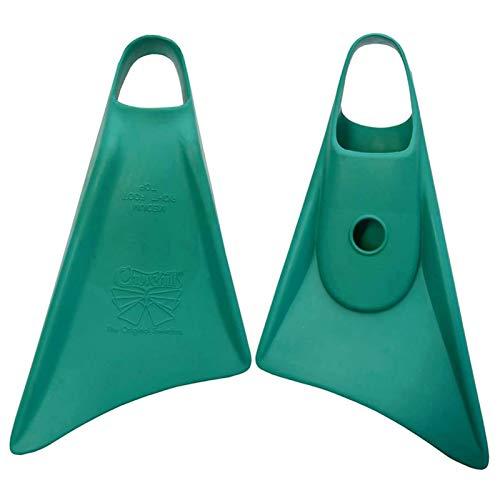 Churchill MAKAPUU - Aletas de bodyboard, verde, large