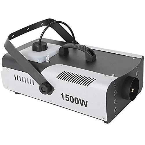 Fitnessgal Fog Machine 1500W, Fog Smoke Machine Portable with 3In1 RGB Stage Fogger LED Stage Effect Remote DJ Show…