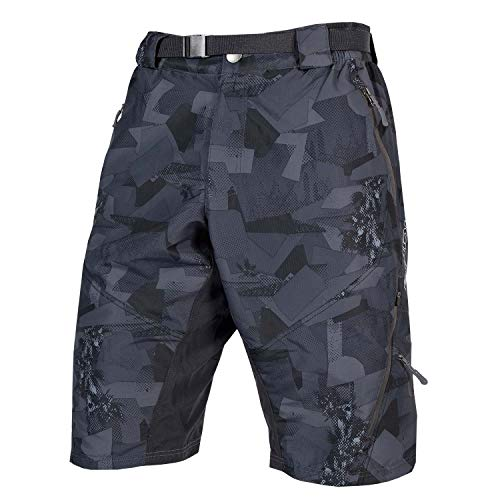 Endura Hummvee Mountain Bike Baggy Bike Short II, Herren, X-Small, Grey Camo