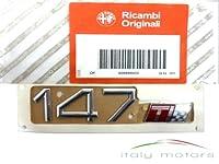 '本物のアルファロメオ147リアロゴエンブレムマークモデル」147 Ti - 60689845
