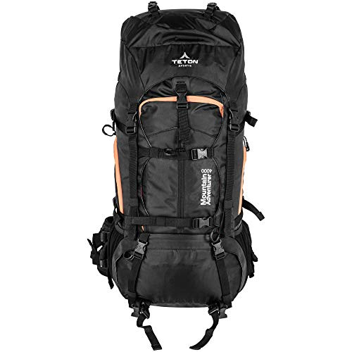 """TETON Sports Mountain Adventurer 4000 Ultralight Plus Backpack; Lightweight Hiking Backpack for Camping, Hunting, Travel, and Outdoor Sports , 27"""" x 12"""" x 10"""""""