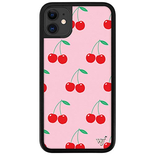 Wildflower Limited Edition Cases Compatible with iPhone 11 (Pink Cherries)