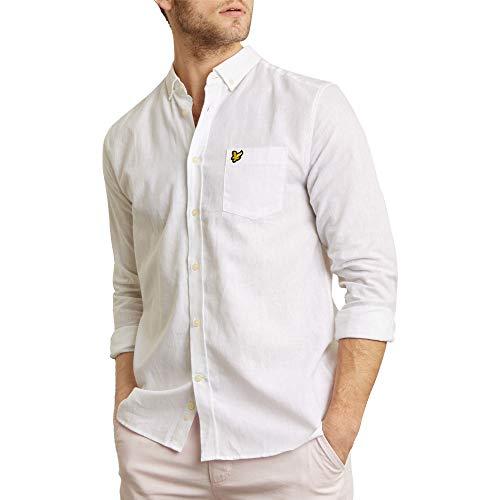 Deko Herren Longsleeve Langarm Shirt Long Oversized Schwarz Weiß S-XXL Pro