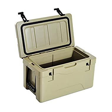 Outsunny 32 Quart Heavy Duty Roto-Molded Camping Cooler and Ice Box