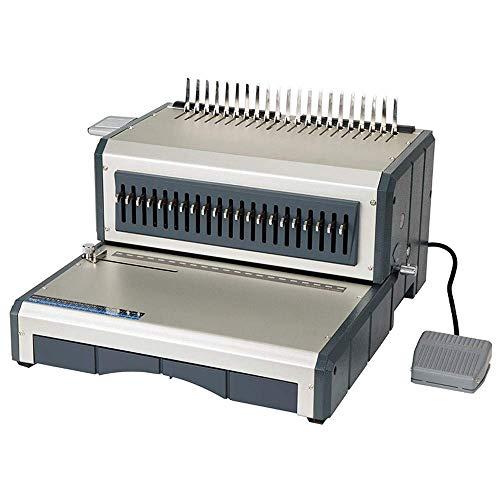 BD.Y Delantal eléctrico Abrazadera Tira Máquina de encuadernación de Cuentas Documentos de Venta Directa de fábrica Contrato de licitación Adecuado para Trabajar