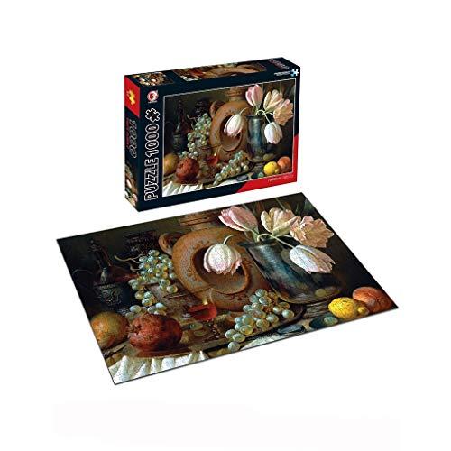 1000 delen puzzel voor volwassenen, bloemen, gebouwen, landschap, grote puzzel, woonkamer, slaapkamer, vrije tijd, speelgoed