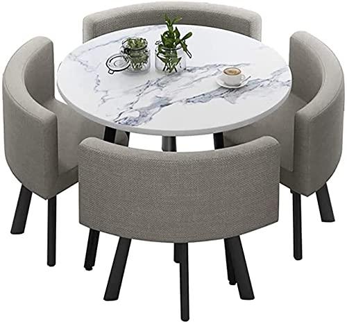 Conjunto de mesa de comedor - Mesa de ocio y silla Conjunto Mesa de cocina y sillas Comedor Cafetería Recepción Oficina Negociación Tabla y silla Combinación Combinación Sala de reuniones Biblioteca d