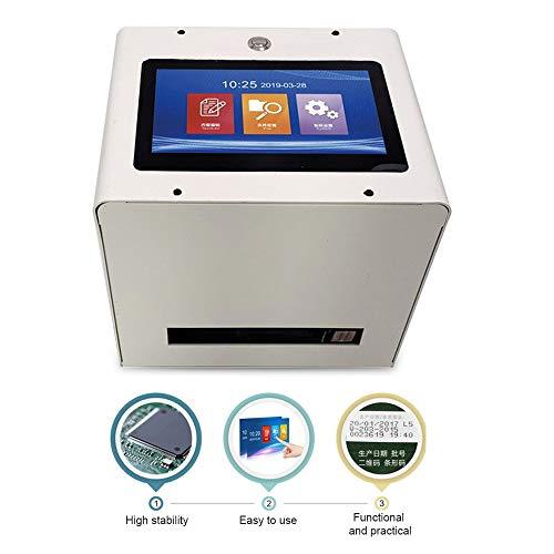 LWQ Statische intelligente automatische Inkjet-Drucker 7 '' Farb-Touchscreen 600 DPI Intelligente USB QR Code Inkjet-Etikettendrucker