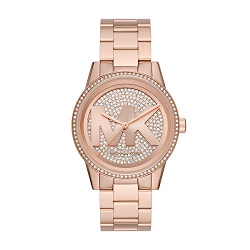 Michael Kors Women's Ritz Quartz Watch in Rose Gold